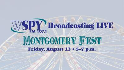 WSPY will be Broadcasting Live from Montgomery Fest – Friday, Aug. 13