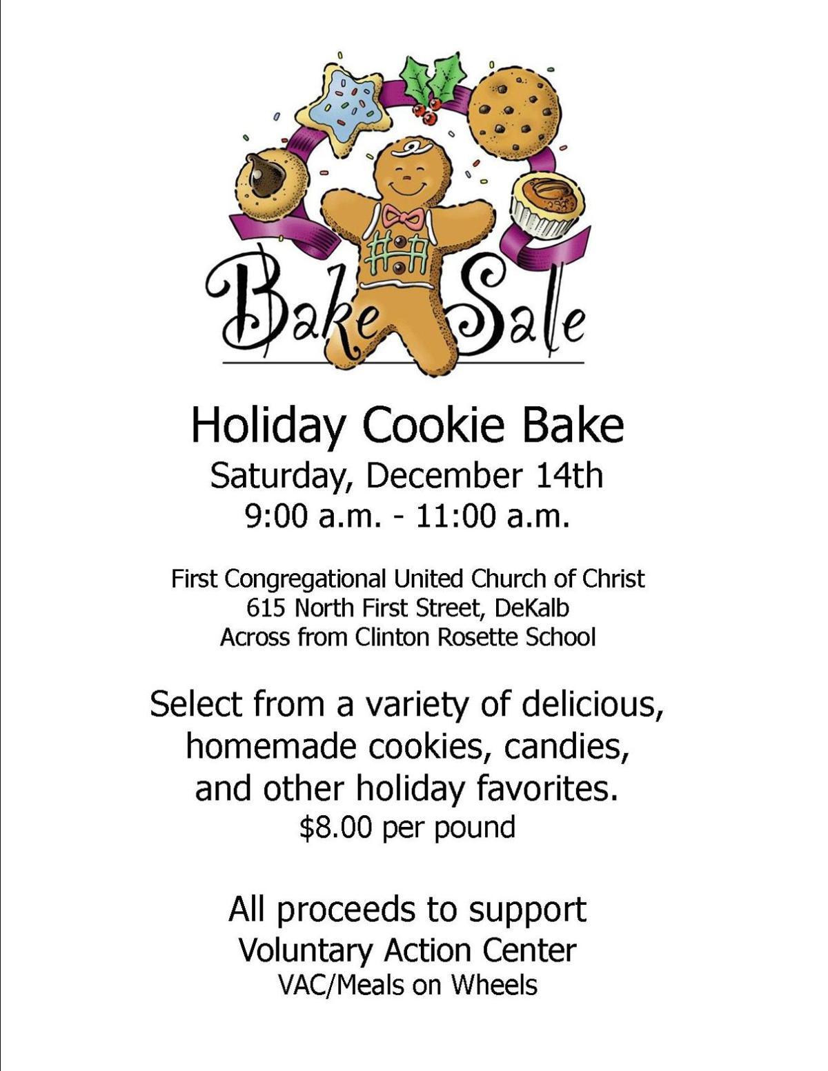 Cookie Bake Flyer