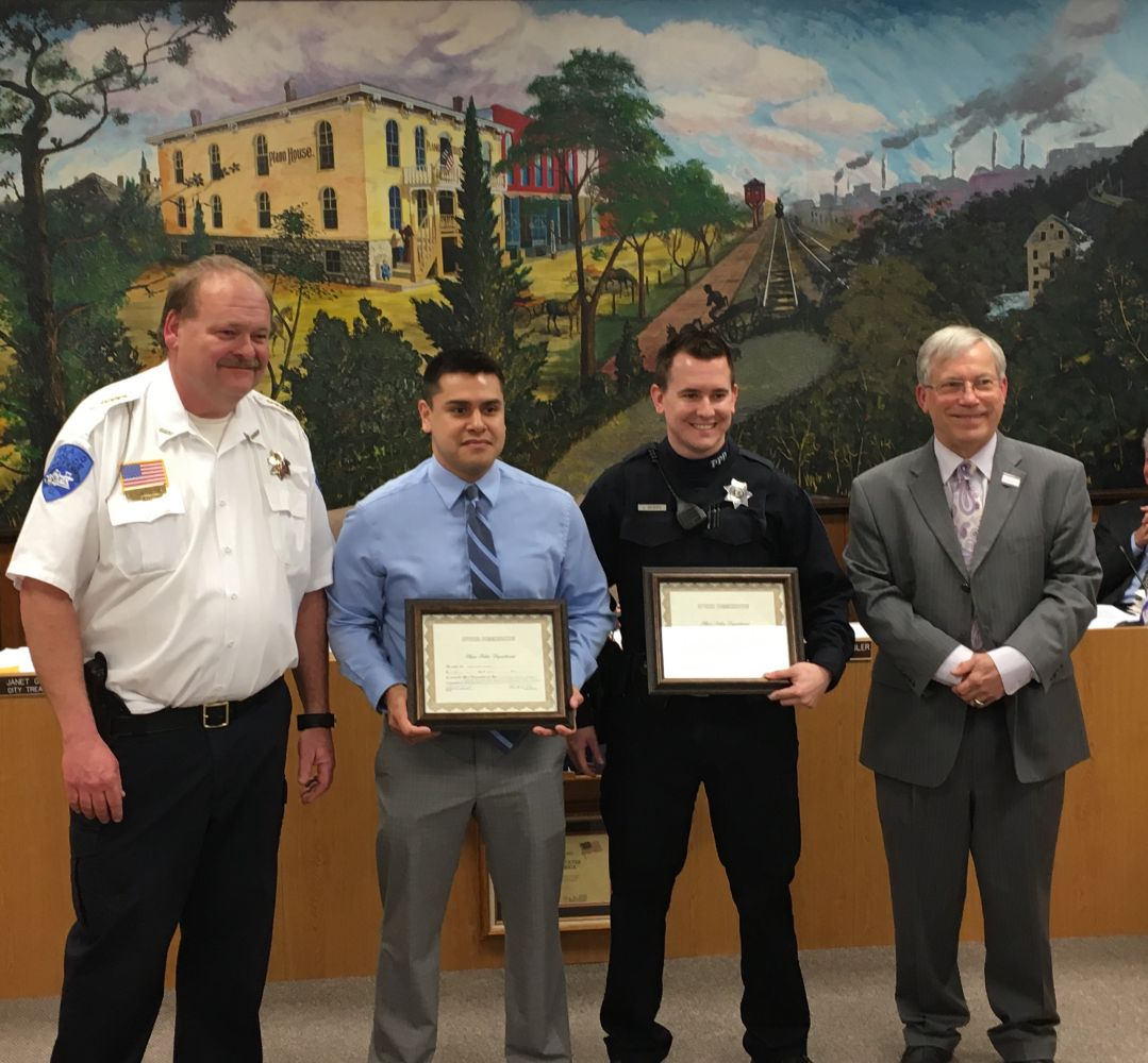 Two Plano Police Officers Commended for Actions Taken During a ...