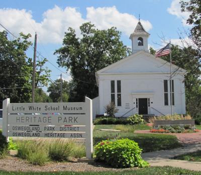 Little White School Museum in Oswego