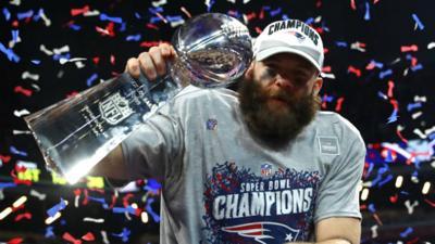Patriots' Julian Edelman says Super Bowl win, MVP honors 'hasn't sunken in yet'
