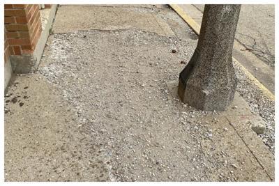 Downtown Sandwich Sidewalk and Pole