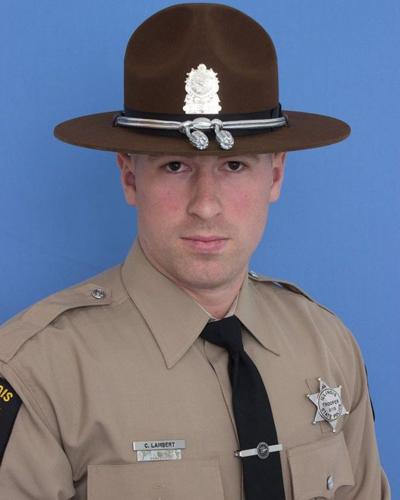 Illinois State Police Trooper Chris Lambert