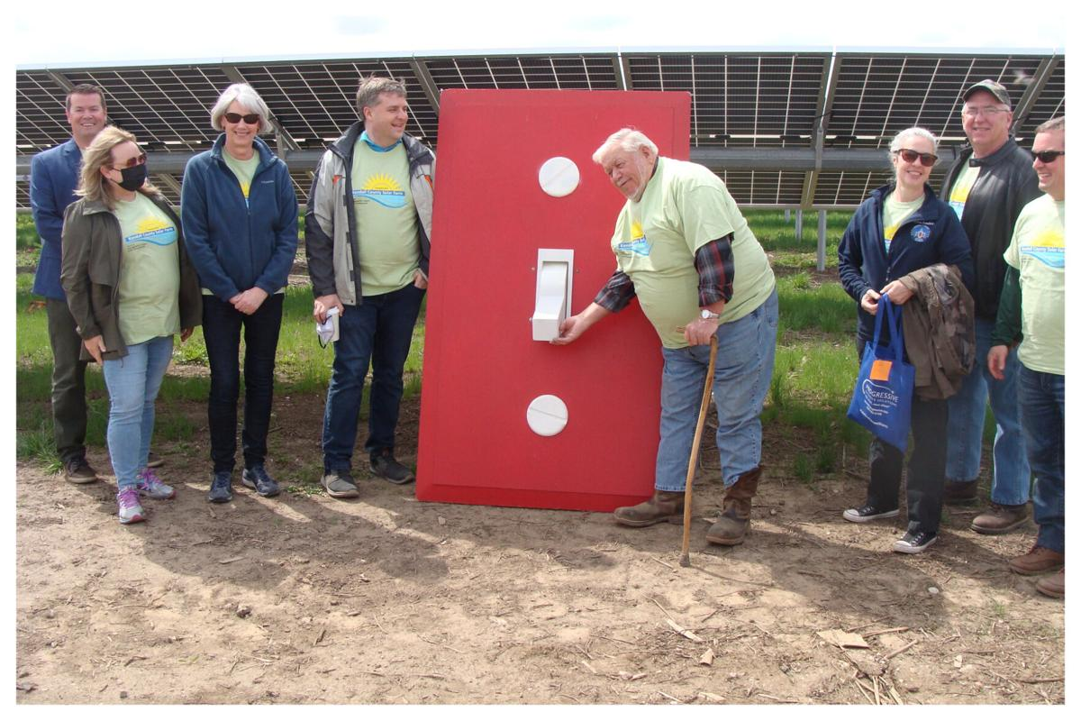 HD Flips the Switch at Kendall County Courthouse Solar Array