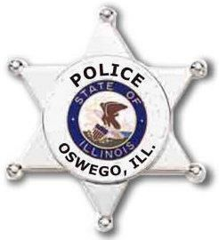 Oswego Police Badge