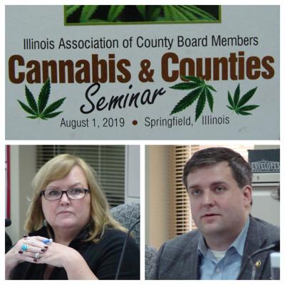 """""""Cannabis and Counties"""" Title Page, Amy Cesich and Matthew Prochaska"""