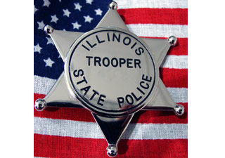 Illinois State Police Badge