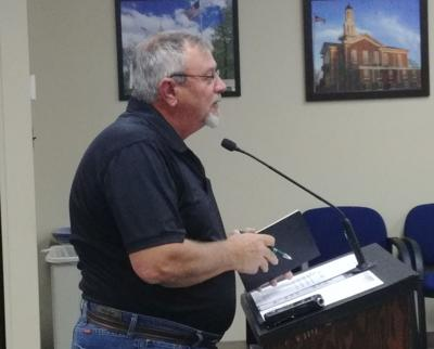 Les Redden at Kendall County Board