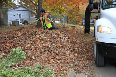 Leaf Pick-Up in Knoxville, Tenn.