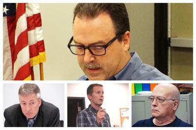 Collage:  Bob Rogerson, Brian LeClercq, Fran Klaas, Bill Small