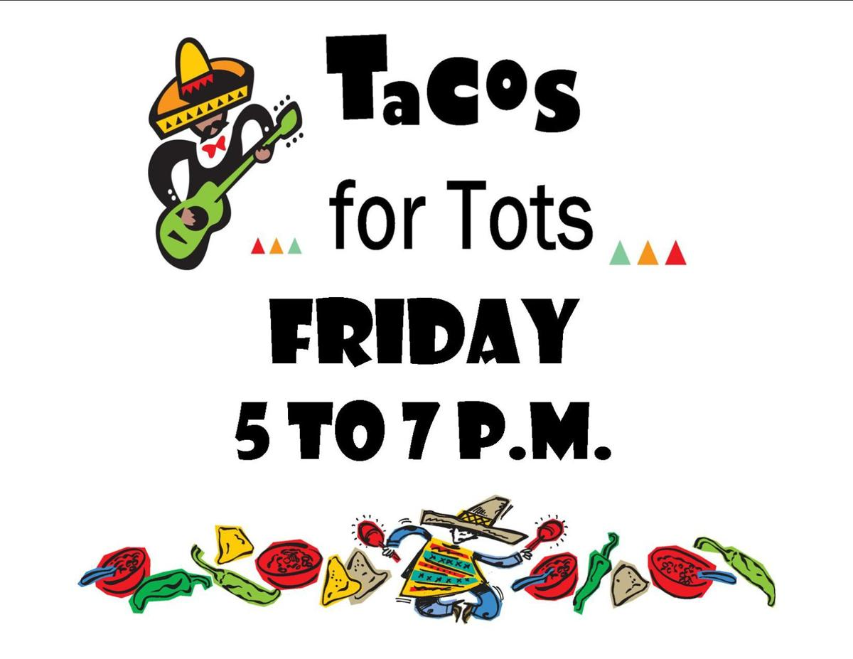 Tacos for Tots sign