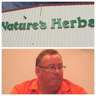 Nature's Herbs, Log Lane Village, Co and Sandwich Mayor Rich Robinson