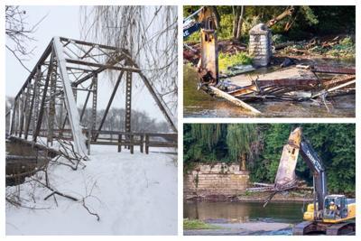 Millbrook Bridge Collage