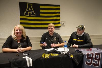 GW's Michael Hughes signs with Appalachian State