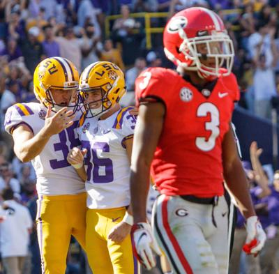 Georgia LSU Football