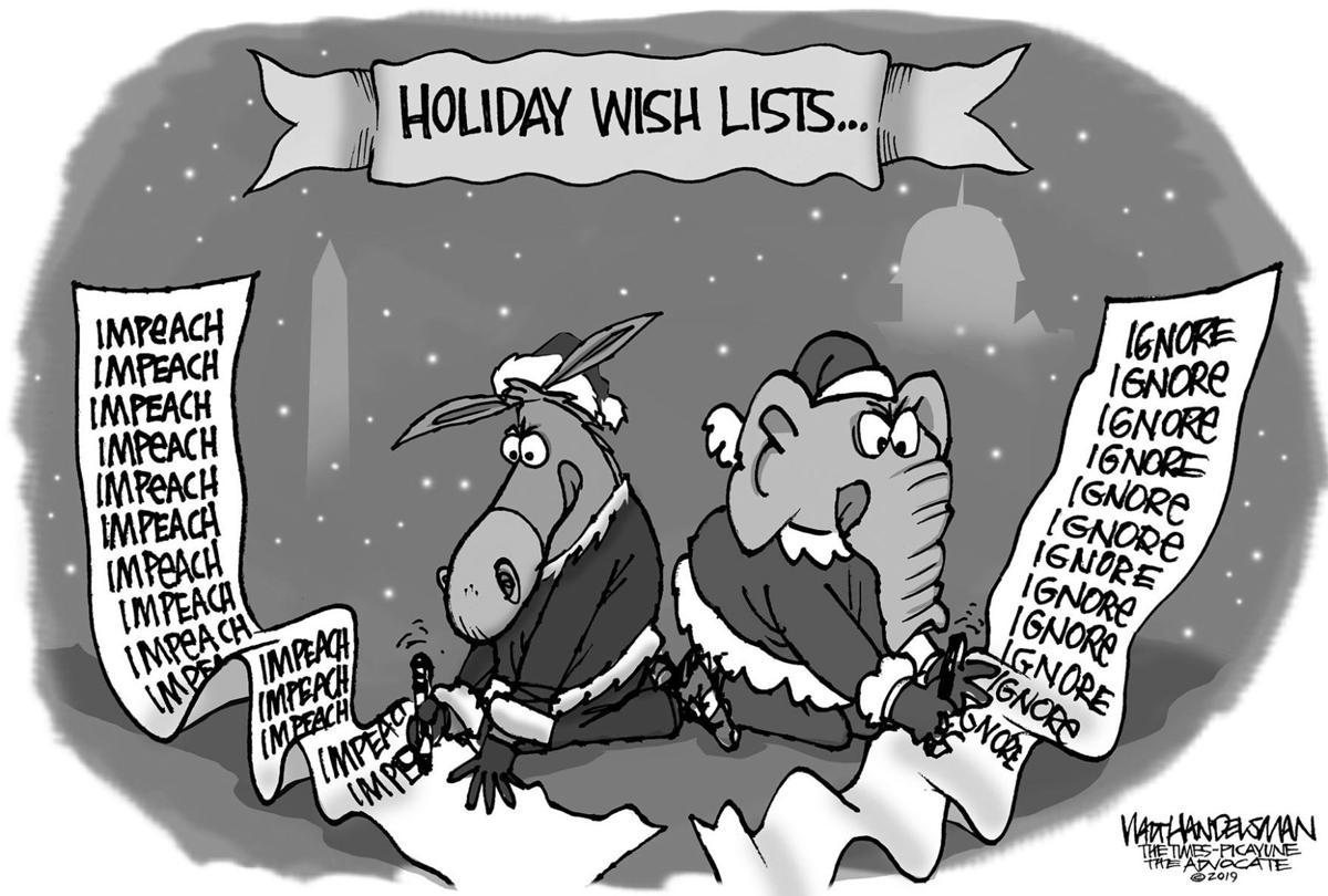 Gazette-Mail cartoon: December 10, 2019