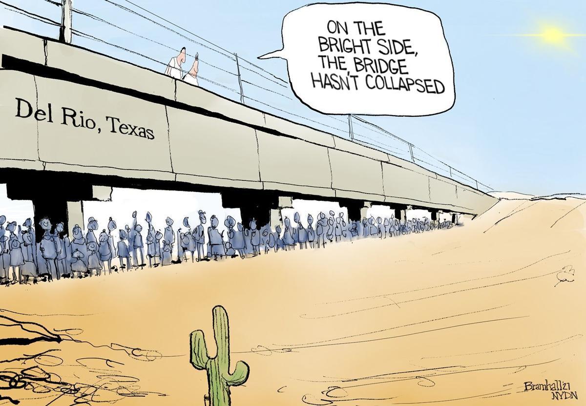 Gazette-Mail cartoon: September 21, 2021