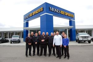 From Charleston to Huntington: Moses Auto Group's used car 'footprint' covers the region.