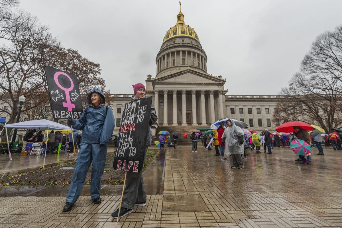Women's March advocates rally at Capitol for third year
