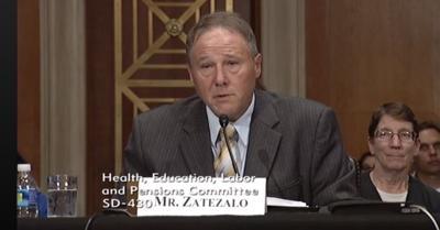 David Zatezalo testifies