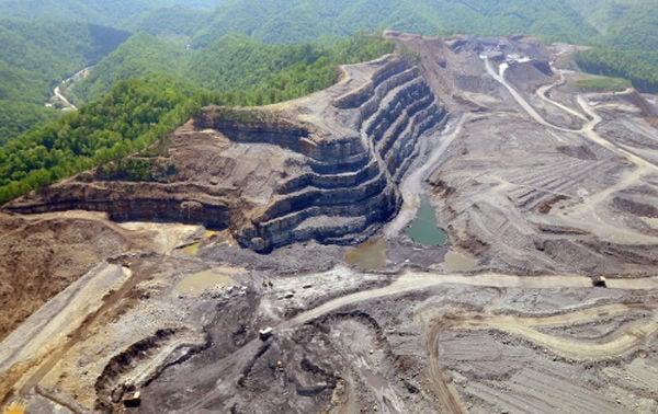 Damage of strip mining