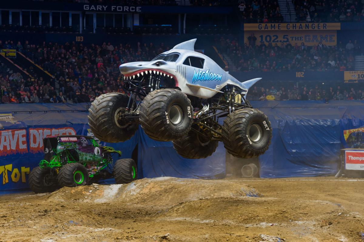 Monster Jam Roars Back Into Civic Center With Super Shark Megalodon Events Wvgazettemail Com
