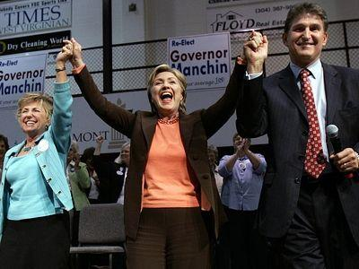 No delay this time; Manchin endorses Hillary
