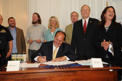 Tomblin signs craft beer, tourism legislation