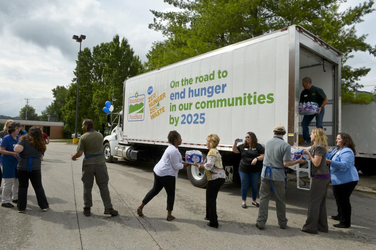 Kroger Truck Donation