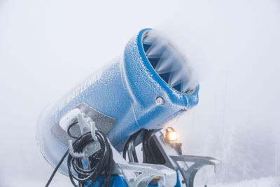 Snowshoe invests $4 million in automated snowmaking gear