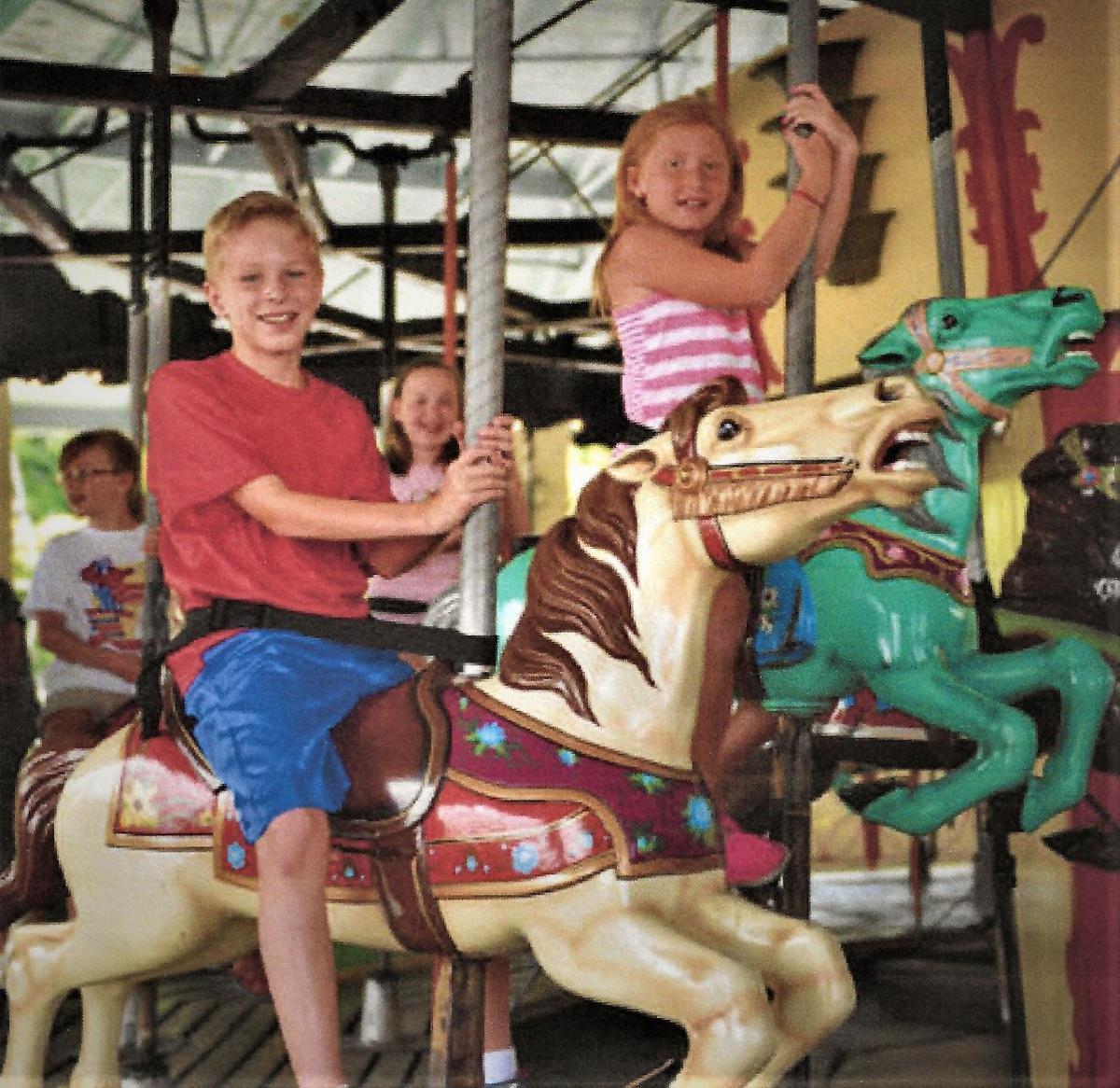 Camden carousel