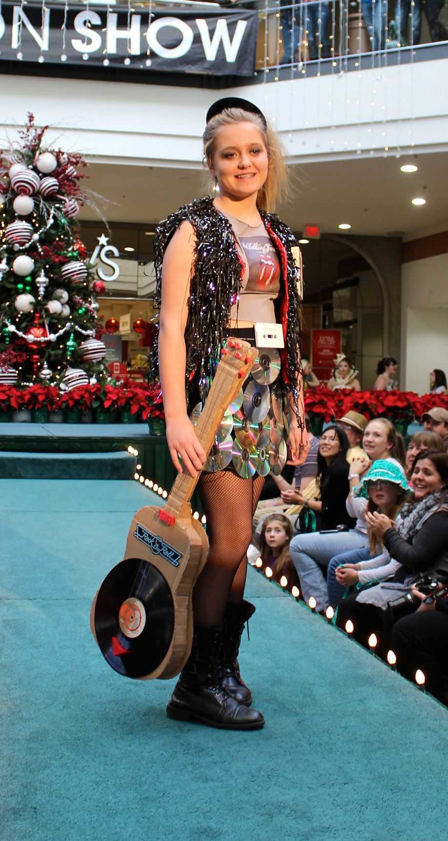 Annual Re-Fashion Show inspires creative recycling