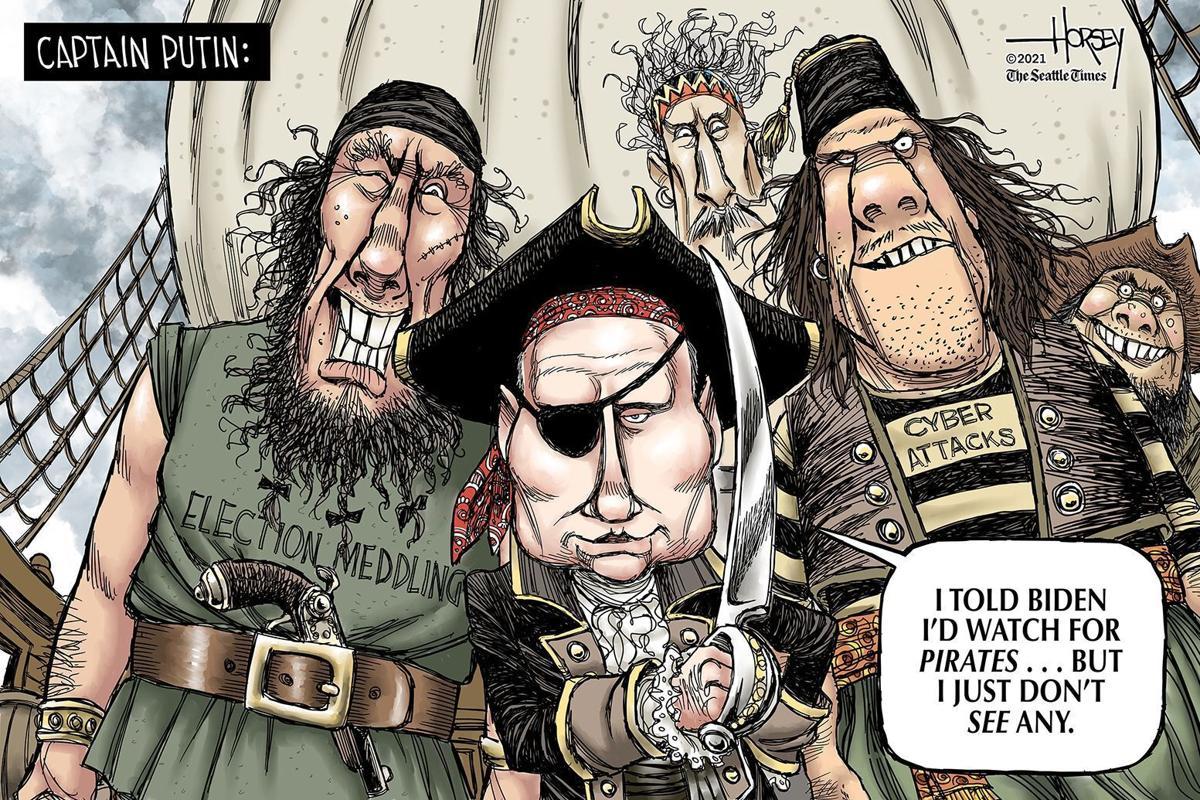 Gazette-Mail cartoon: June 23, 2021