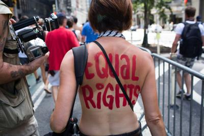 Charleston asks topless protest organizers to reschedule