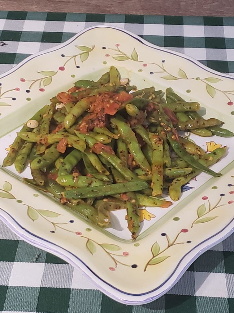 20210919-gm-farm2fork-Green Beans with Sauteed Tomatoes.JPG