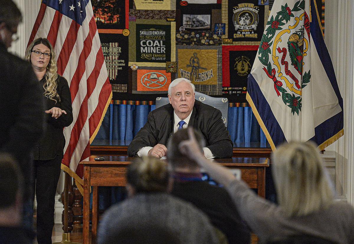 WV Governor Presser