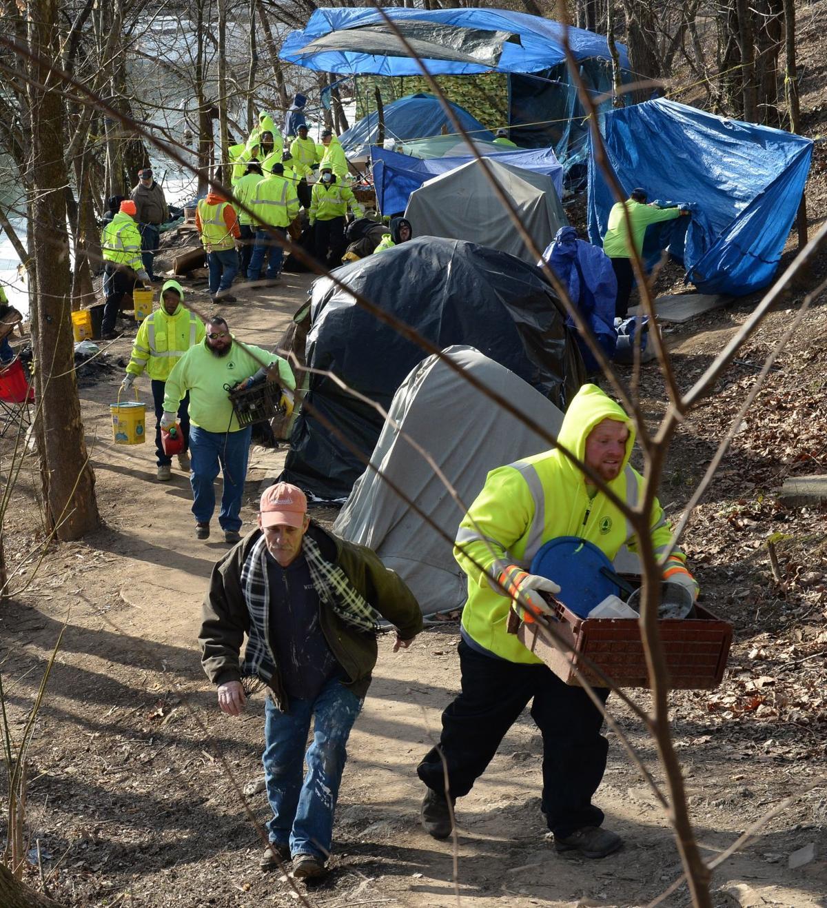 Charleston Mayor Orders 'Tent City' Dismantled