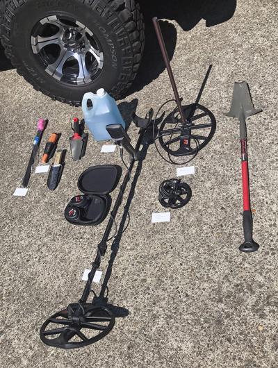 metal detecting gear