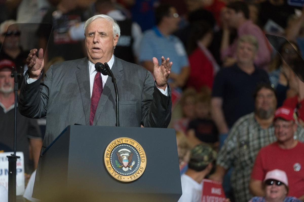 WV Gov. Justice switching political parties, returning to GOP