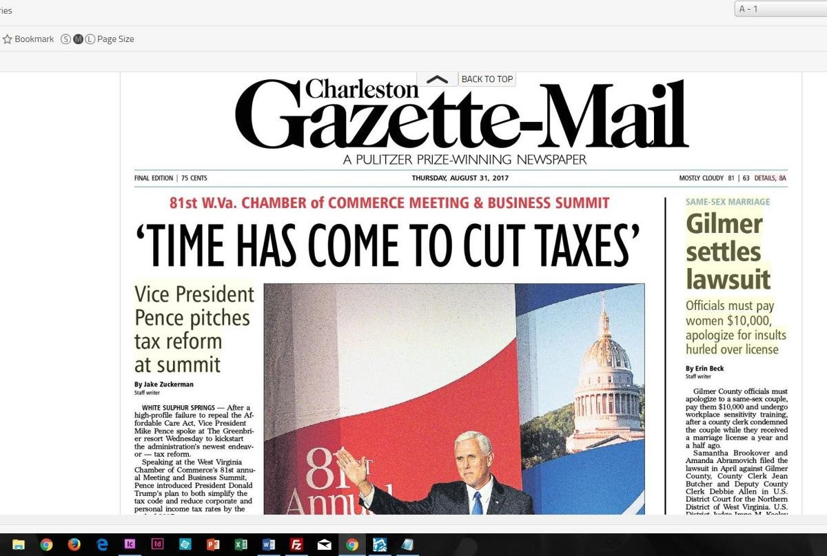 Gazette-Mail to eliminate Monday print edition | Business ...