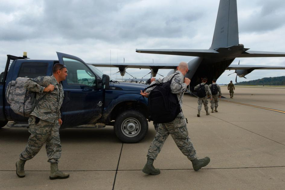 Middle East deployment includes more than 500 WV National