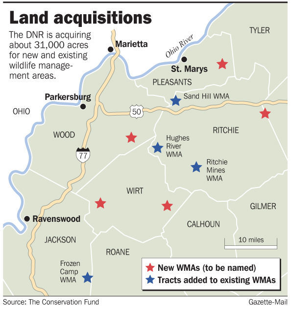 WV DNR to add five new WMAs, expand four others | Hunting