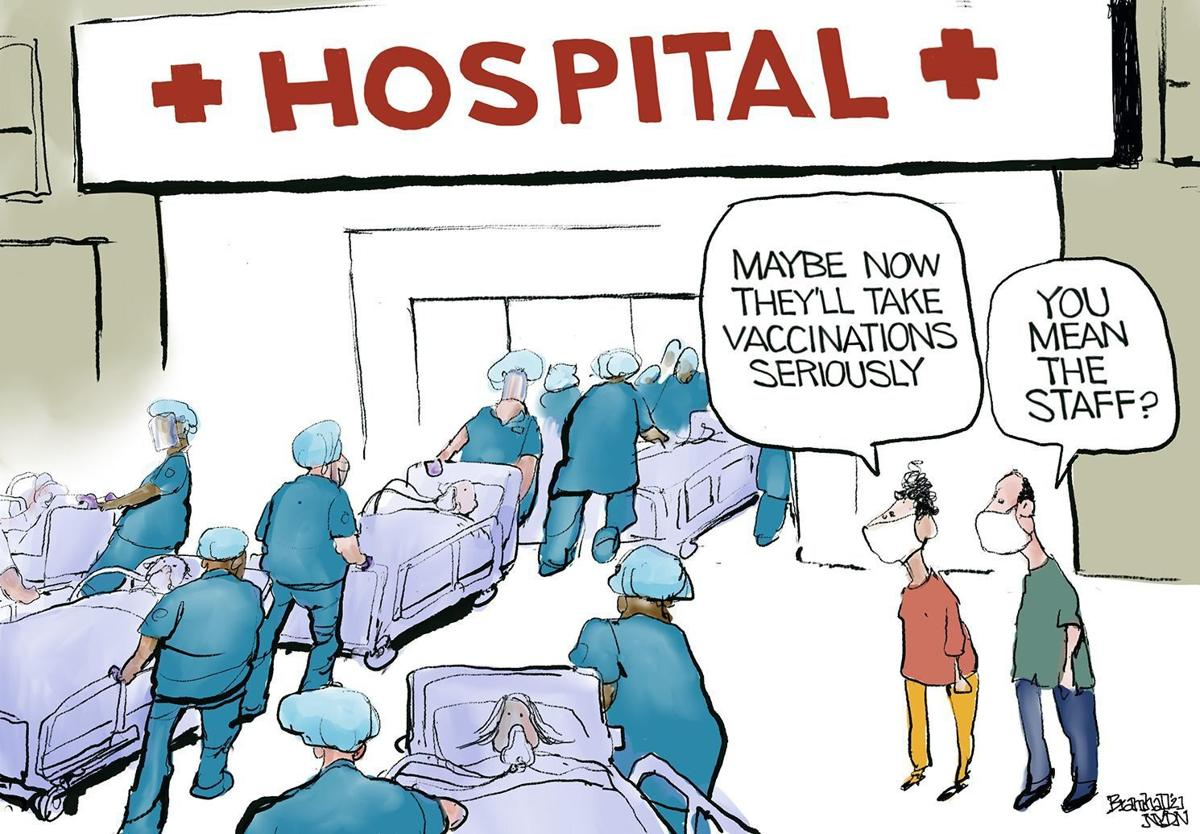 Gazette-Mail cartoon: July 22, 2021