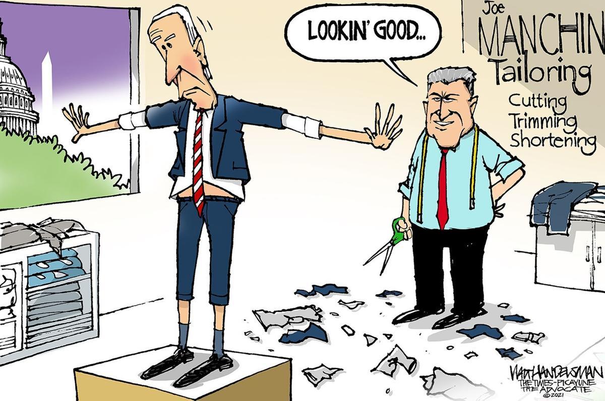 Gazette-Mail cartoon: October 23, 2021