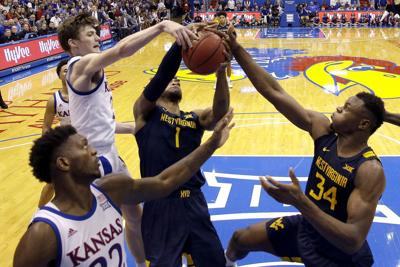 West Virginia Kansas Basketball