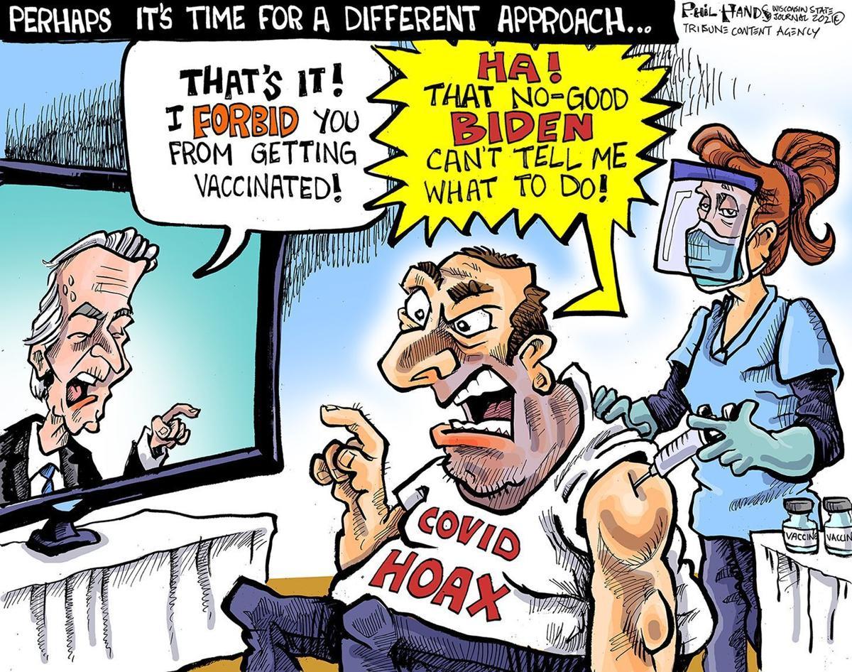 Gazette-Mail cartoon: September 20, 2021