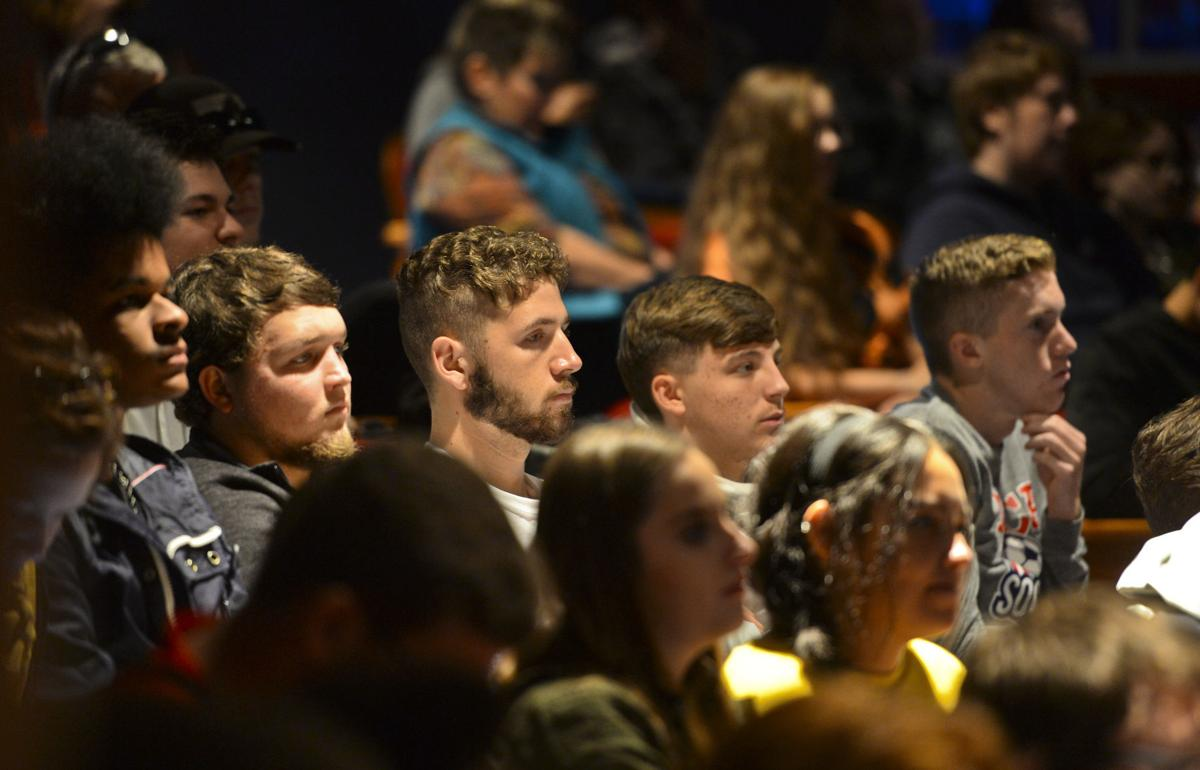 PHOTO: WV students hear speakers to prepare for future