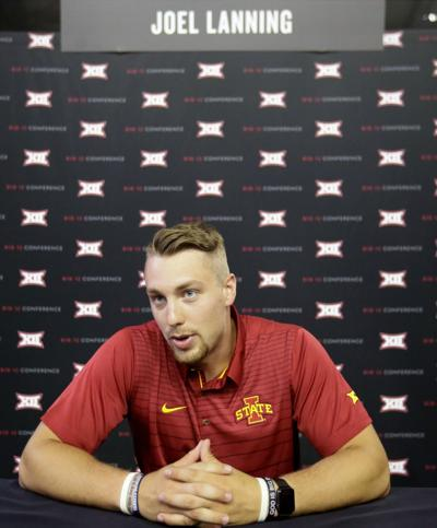 Iowa State's Lanning goes from playing QB to chasing them