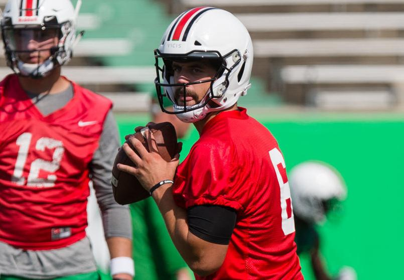 New Marshall Qb Alex Thomson Happy To Be Back On The Field