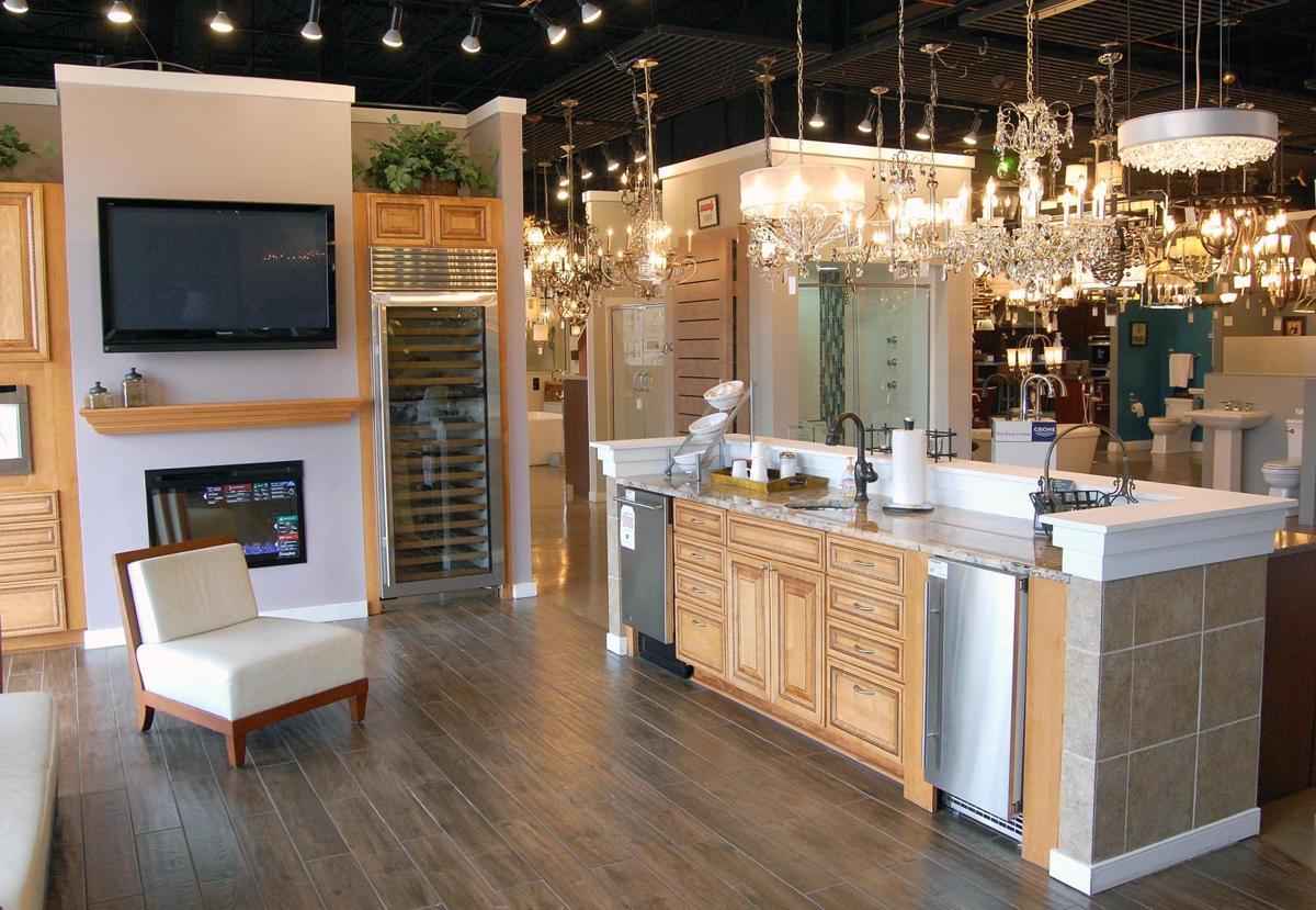 Ferguson bath kitchen lighting gallery expands in for Ferguson outdoor kitchen